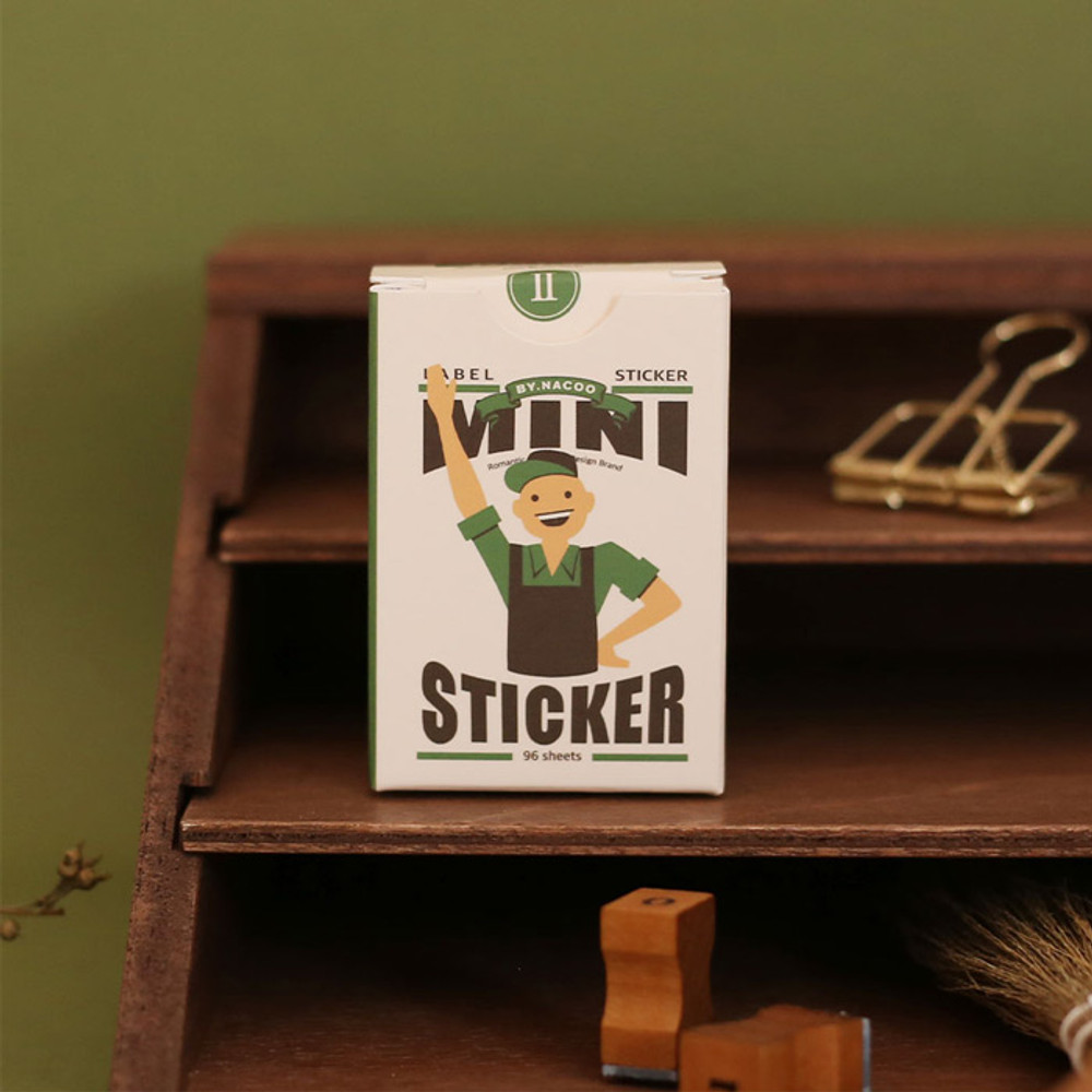 NACOO Vintage 2 small label sticker pack