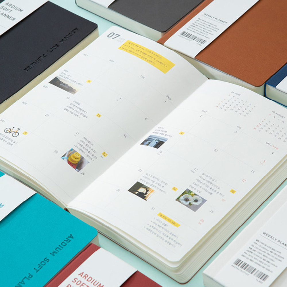 Ardium 2020 Soft weekly dated diary planner