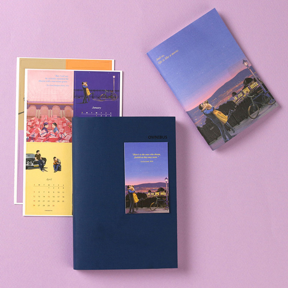 Navy - Wanna This Omnibus dateless weekly diary planner