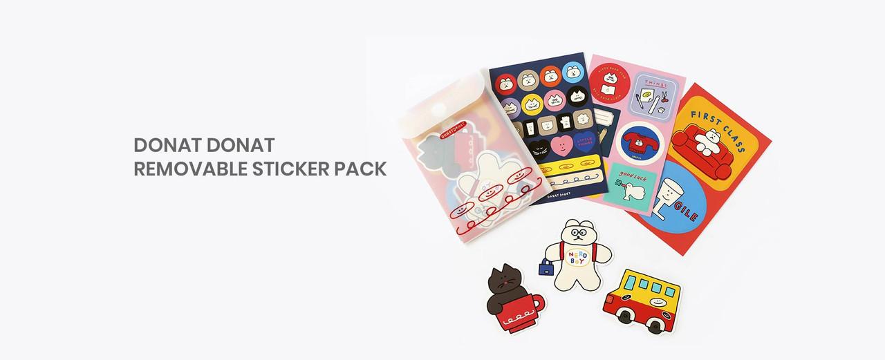 Donat Donat removable sticker pack
