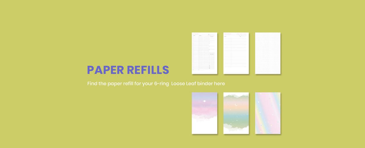 Fallindesign Paper Refills