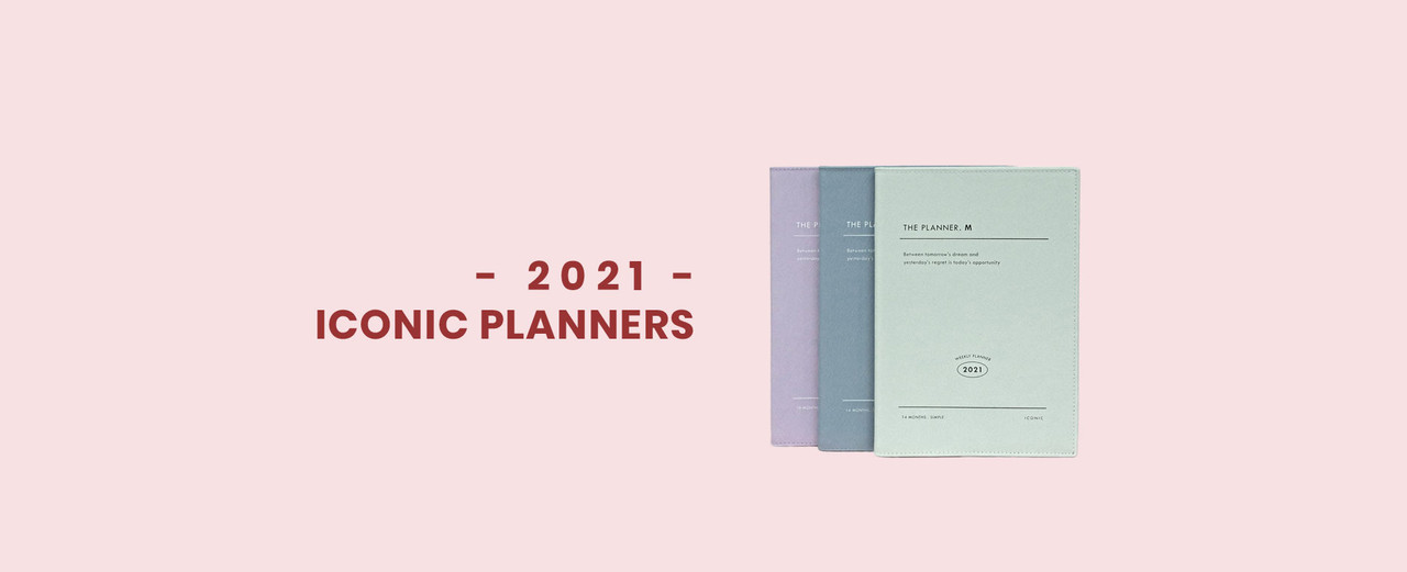 Fallindesign 2021 iconic planners