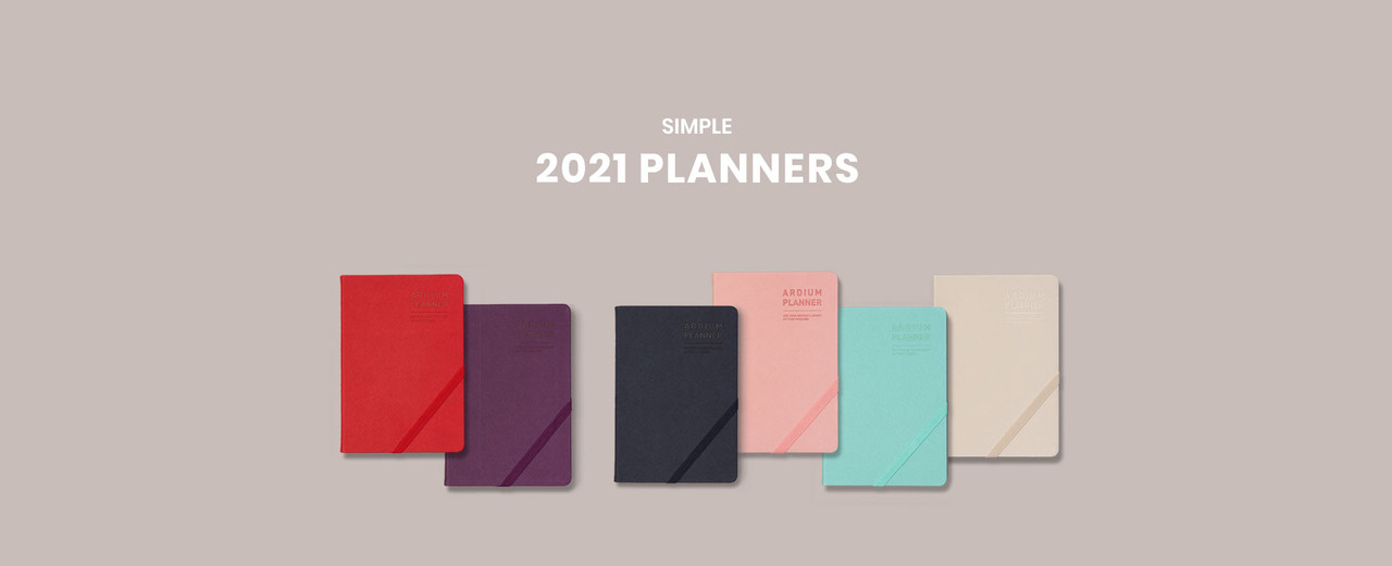 2021 simple planners fallindesign