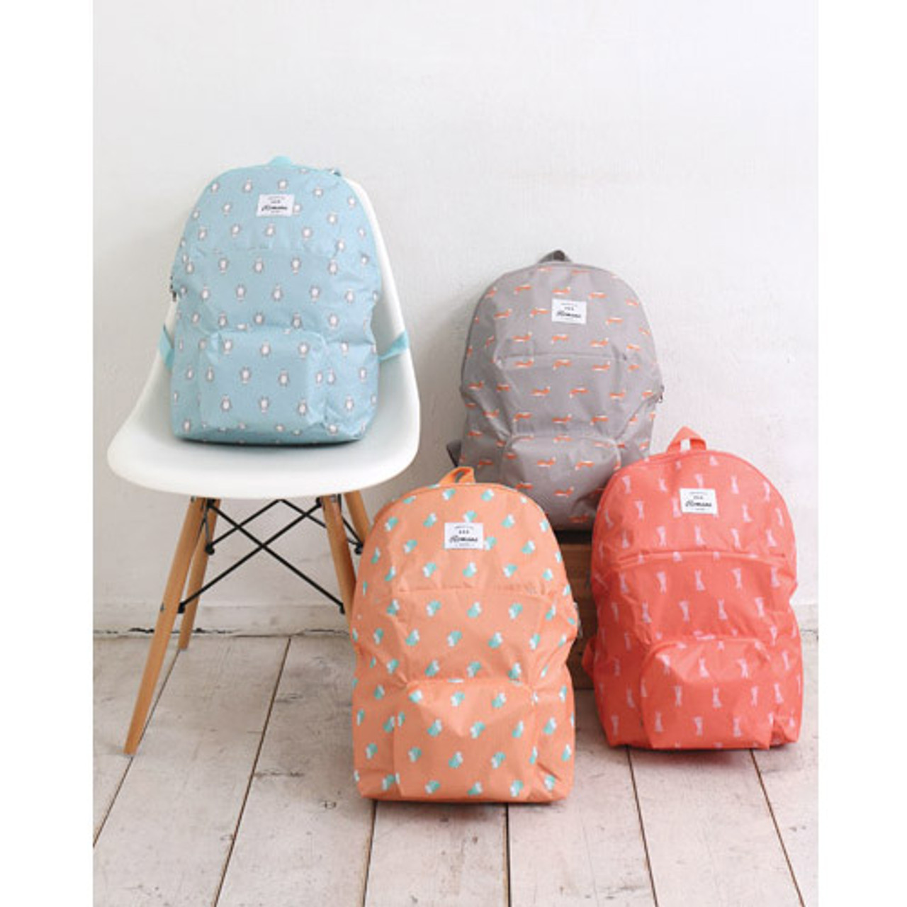 450088f45 Romane Mr.wood pocket foldable backpack - fallindesign