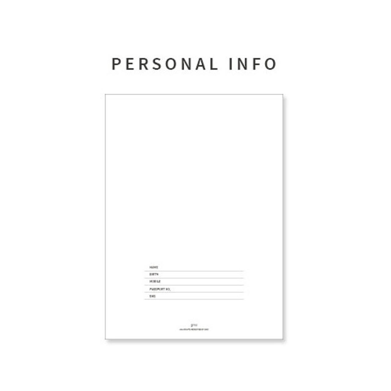 gunmangzeung 2018 simple light dated monthly planner scheduler