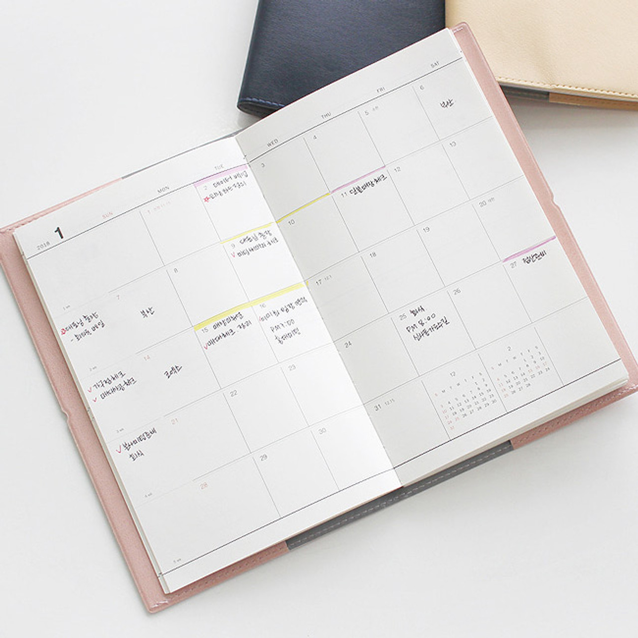 Dash And Dot 2018 Time Life Dated Weekly Planner Agenda