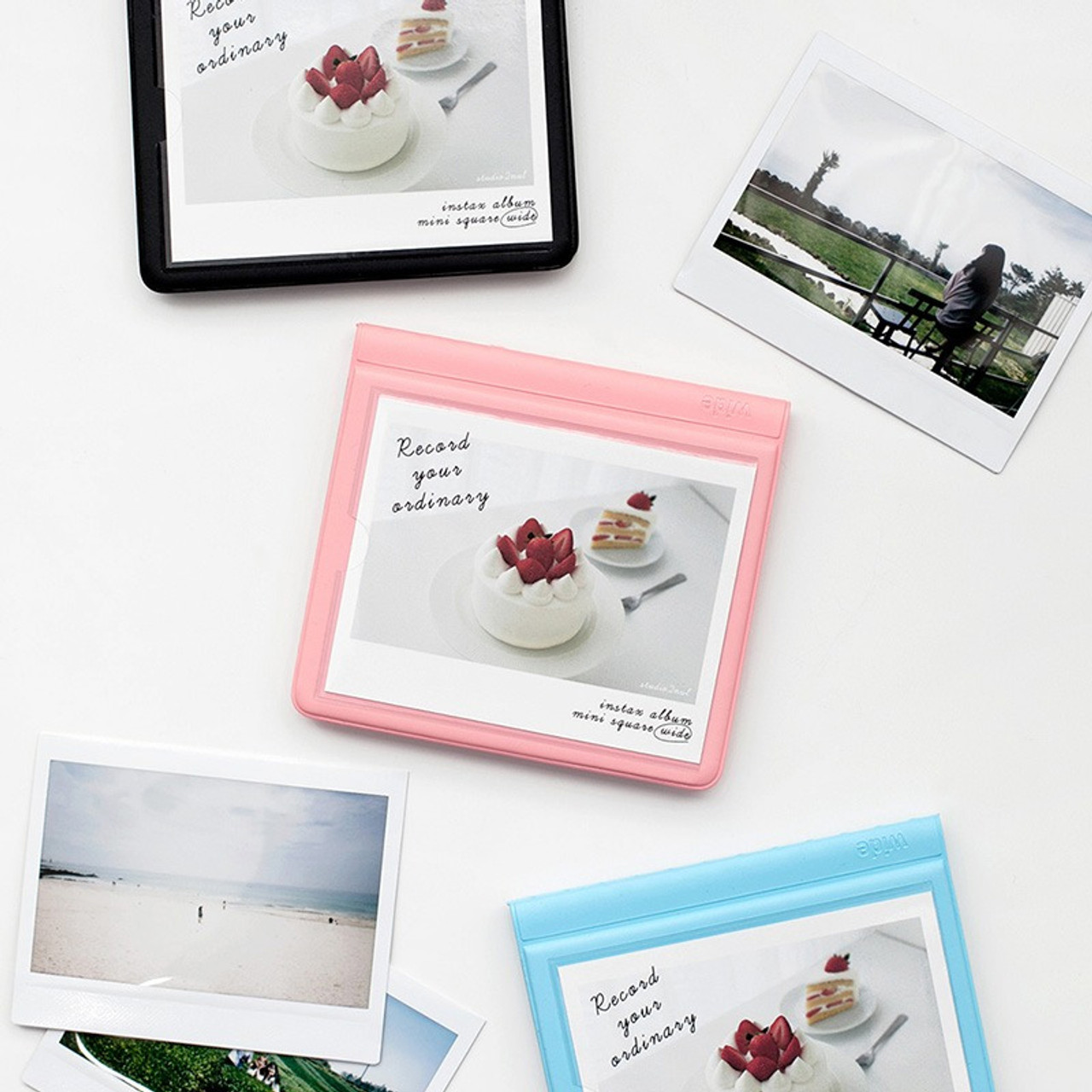 2nul Colorful Instax Wide Slip In Pocket Photo Album Fallindesign