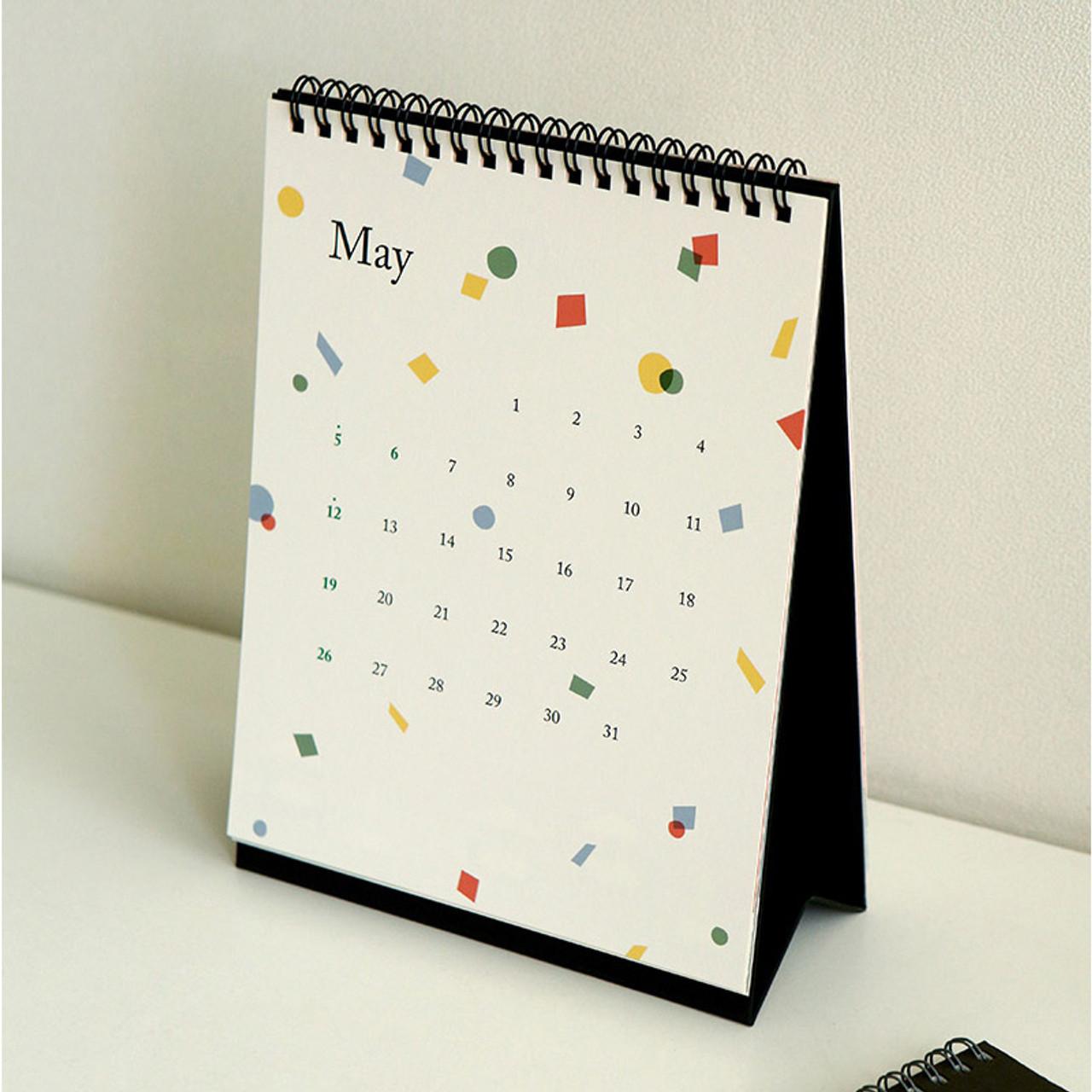 Cute Desk Calendar Lighted Vanity Desk