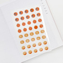 Fruit clear sticker - GMZ Fruit and removable sticker pack