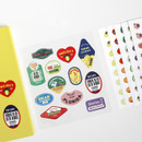 GMZ Fruit and removable sticker pack