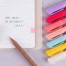 Comes with a pen - Rihoon Essay small weekly dateless diary planner