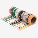 set of 10 tapes - Dailylike Go to picnic 10 masking tapes set with tin case