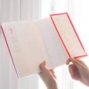 Hidden pocket - Rihoon 2020 I like weekly dated grid diary planner