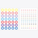 Sticker sheets - Rihoon Lovely decoration 20 sheets sticker set