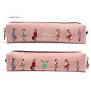 Light Pink - Bookfriends Anne of green gables zipper pencil case pouch