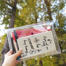 ICIEL Memory romance clear PVC diary planner pouch