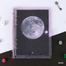 Moon - Second Mansion Piece of You A5 6-ring dateless weekly diary