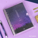 Violet universe - Second Mansion Piece of You A5 6-ring dateless weekly diary