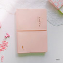 Pink - ICIEL 2020 Recording today dated weekly diary planner