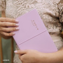 Lavender - ICIEL 2020 Recording today dated weekly diary planner