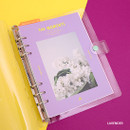 Lavender - Second Mansion Moment A5 6ring dateless weekly diary planner