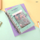 Mint - Second Mansion Moment A6 6-ring dateless weekly diary planner