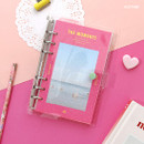 Hotpink - Second Mansion Moment A6 6-ring dateless weekly diary planner
