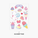 Sweet time - Second Mansion Creamy friends deco point sticker