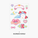 Dream world - Second Mansion Creamy friends deco point sticker