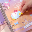 Removable - Second Mansion Creamy friends deco point sticker