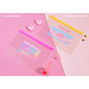 Sugar lush, Magical fantasy - Second Mansion Retro mood 6-ring A5 zip lock pouch bag