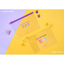 Berry berry, Jelly jello - Second Mansion Retro mood 6-ring A5 zip lock pouch bag
