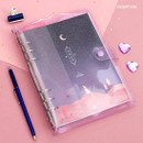 Desert fox - Twinkle moonlight A5 6-ring dateless weekly diary planner