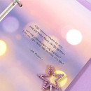 Usage example - Second Mansion Moment 6-ring A5 size planner notebook refill