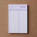 Answer sheet - Dash And Dot Oh my memo 70 sheets planning checklist pads