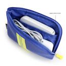 Inner pocket  - Monopoly Air mesh small cable half zipper case pouch