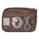 Inner mesh zipperd pocket - Monopoly Air mesh small cable half zipper case pouch