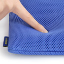 Extra padding layer - Monopoly Air mesh extra large iPad zipper tote pouch bag
