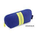 Ocean Blue - Monopoly Air mesh glasses zipper pouch bag