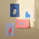 Chair - ROMANE Donat brunch brother postcard 4 sheets set