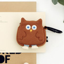 Owl - ROMANE Brunch brother AirPods zipper pouch bag