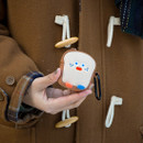 Toast - ROMANE Brunch brother AirPods zipper pouch bag