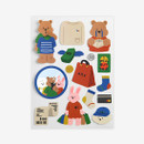 Dailylike Shopping removable paper deco sticker