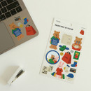 Usage example - Dailylike Shopping removable paper deco sticker