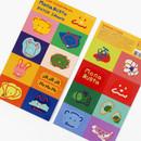 ROMANE MonagustA removable deco sticker 2 sheets set