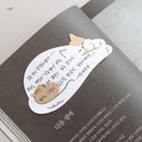 Cat - Iconic Animal sticky note 40 sheets