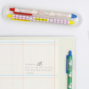 Usage example - ROMANE Brunch brother print 0.38mm black ballpoint pen