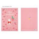 Alice in Wonderland Pink - Bookfriends World literature lined school study notebook