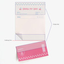 Detail of Iconic Dual sticky notepad 40 sheets