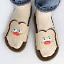 Usage example - ROMANE Brunch Brother popeye toast slide slipper sandal